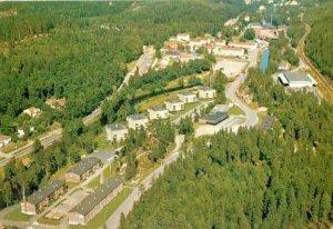 Flygbild övre Svaneholm med Svanäng 1985