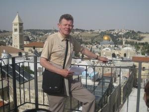 Föredrag, bildvisning från resa till Jerusalem.